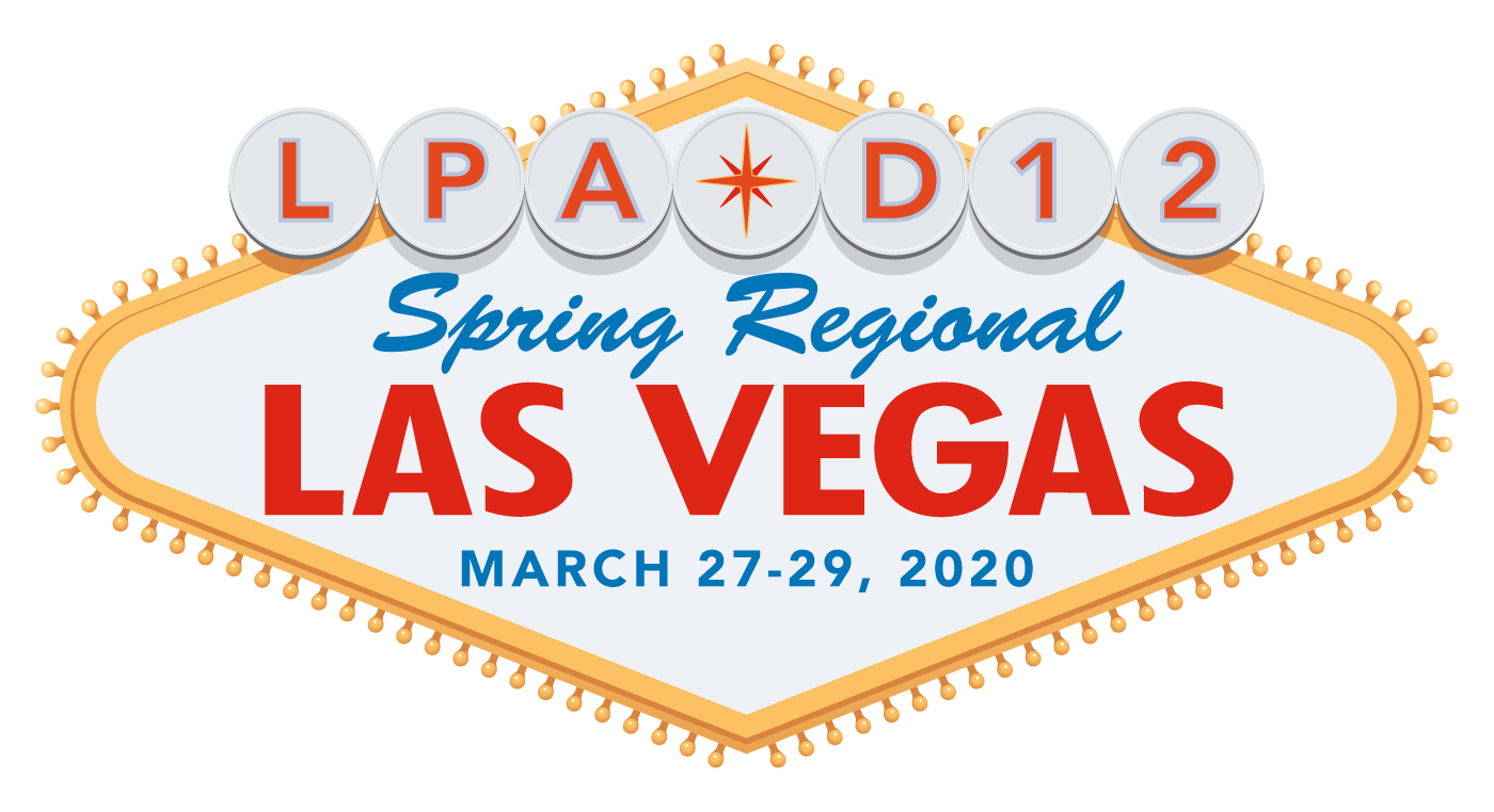 Logo of Las Vegas regional conference.